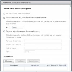 VMware View composer